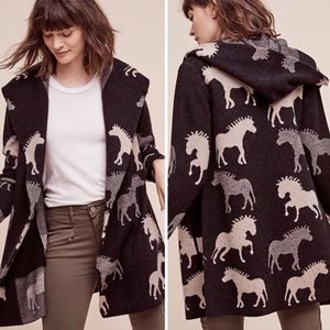 Anthropologie Dressage Sweater Coat - Small NWOT
